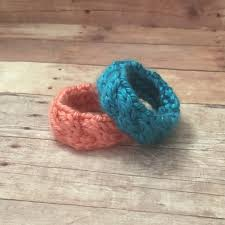 Baby Shower Bracelets - identical twin knit bracelets baby shower gifts for twins
