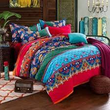Exotic Comforter Sets Newrara Home Textile Boho Style Duvet Cover Set Bohemia Exotic