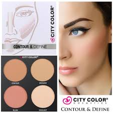 Make Up City Colour jual make up wajah artist palette kosmetik makeup set city color