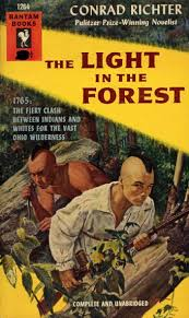The Light In The Forest Movie George Gross Cover Art