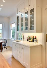 wet bar cabinets kitchen traditional with bar glass front cabinet