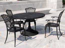 wrought iron outdoor dining table dining room outdoor dining table with small round black wrought iron