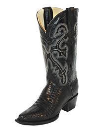 ferrini s boots size 11 ferrini 8116104105b teju lizard v toe boots black 10 5b