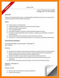 Walgreens Resume 7 Resume Format For Pharmacist Quotation Samples