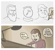 Shaving Meme - shaving meme guy