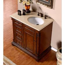 Vanity With Granite Countertop Astonishing Bathroom Vanity With Sink On Right Side Using Oval