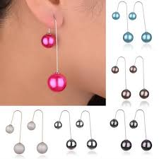 earrings styles online shop 12 colors new styles sided earrings christmas