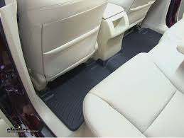 weathertech black friday 2014 weathertech 2nd row rear floor mat review 2014 acura rdx video