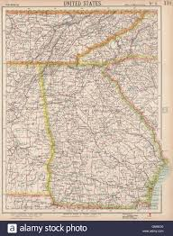 Map Of Tennessee And Georgia by Georgia U0026 Southern Appalachia Alabama Tennessee Nc Sc Railroads