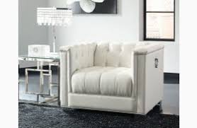 White Tufted Loveseat Chaviano Pearl White Tufted Loveseat From Coaster Coleman Furniture