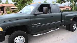 2002 dodge cummins for sale 2002 dodge ram 3500 dually 4x4 v10 clean car fax 1 owner florida