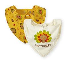 koala baby 2 pack infant thanksgiving bandana bibs babies r us