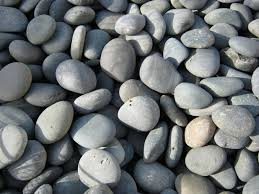Pebbles And Rocks Garden Grey River Rock Stones Rh Rock Garden Pinterest Gardens