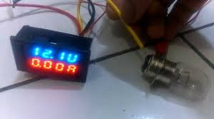 dc 0v 100v 10a dual led digital voltmeter ammeter voltage youtube