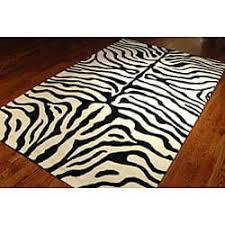 safavieh handmade soho zebra ivory black new zealand wool rug 5