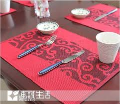 dining room placemats picturesque fashion fabric dining table mat cloud placemats