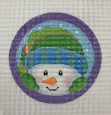 snowmen needlepoint designs needlepoint canvases snowmen with