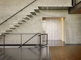 Floating Stairs Design Designs Ideas Industrial Modern Home With Stylish Metal Floating