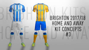 brighton full 2017 18 kit concept home and away 2 the new