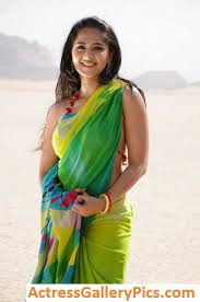 17 best anushka shetty spicy and in green transparent saree