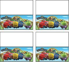free chuggington printables teach children transportation