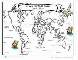the voyage of magellan worksheet education com