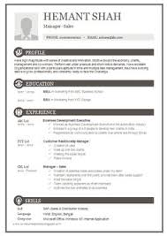Sample Resume Format For Fresh by Resume Sample In Word Document Mba Marketing U0026 Sales Fresher