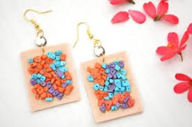 felt earrings earrings felt earring online shopping india itokri