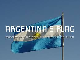 Argentina Flag Photo Argentina Visual Aid By Grace Williams