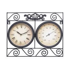 Patio Clocks Outdoor Thermometer 156 Best Clock Images On Pinterest Desk Clock Table Desk And