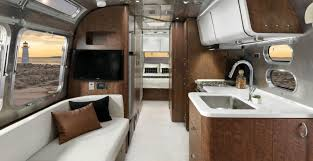 Rv Modern Interior Prefab Mobile Friday Airstream Bambi Trailer Inhabitat Green