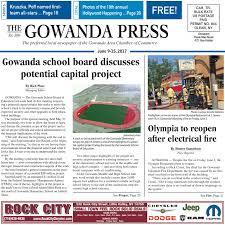 is the niagara falls outlet a target for terrorist on black friday gowanda press u2014 june 9 2017 edition by bradford publishing issuu