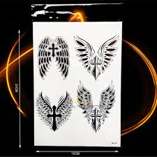 neck wing tattoos online buy wholesale cool wing tattoos from china cool wing