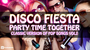 disco party party time together dance music at parties 70 u0027s
