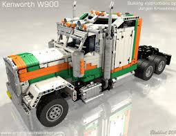 kenworth w900 parts technicbricks building instructions for jurgen u0027s kenworth w900