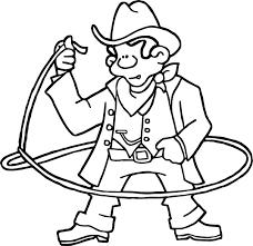 american revolution history cowboy coloring page wecoloringpage