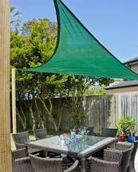Outdoor Shades For Patio by Economy Shade Sails Sun Sail Easy On The Budget Yard