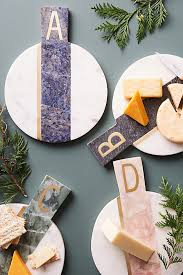 marbled monogram cheese board anthropologie