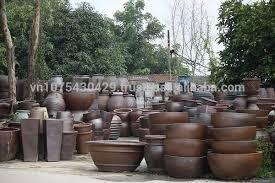 Square Planter Pots by Ceramic Plant Pots Large Painted Flower Pots Outdoor Pottery