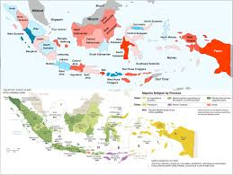 World Religions Map by The Uncertain Role Of Religion In Indonesia U0027s 2014 Presidential
