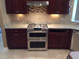 Marble Backsplash Kitchen by Our Work Stone Saver