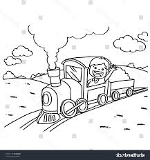 unique train engine coloring pages vector library free vector