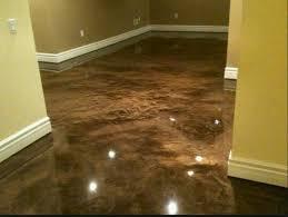 Tile On Concrete Basement Floor by 29 Best Concrete Floors Images On Pinterest Homes Concrete