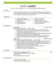resume template exle teaching resume sle inspiration teaching resume exles exle