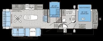 The Jeffersons Apartment Floor Plan Fifth Wheel Floor Plans Bunkhouse Casagrandenadela Com