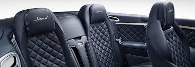 Diamond Tuck Interior Continental Gt Speed Convertible Bentley Motors