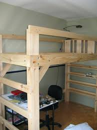 loft beds twin size loft bed frame i finally did it made some