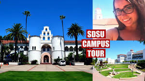San Diego State University Campus Map by Tour Of San Diego State Campus Sdsu Colleen Marge Youtube