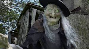 witch costume spirit halloween 6 ft lunging haggard witch animatronic spirit halloween youtube
