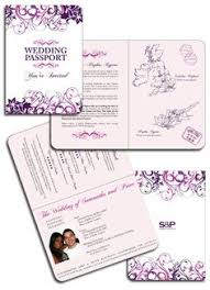 destination wedding passport invitations and boarding pass rsvp